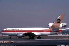 Continental Airlines N68047 McDonnell Douglas DC-10-10 aircraft picture