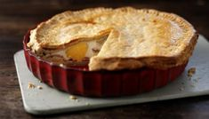 Egg and bacon is a match made in heaven. This pie from The Hairy Bikers is quick, easy and delicious served warm or cold.