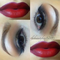 Great Gatsby themed makeup Mac Nightmoth lip pencil with Flower Rosebud lipstick