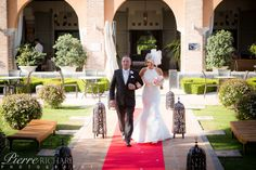 Entrance of bride and father