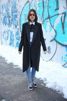 Denim Is Spring's Best Friend | Man Repeller @Gap #styldby