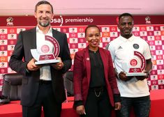 Orlando Pirates grab double in League's monthly awards. Premier Soccer, Top Soccer, Transfer Rumours, Soccer League, Team S, Victorious, Orlando, Pirates, South Africa