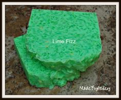 Lime Fizz. Handmade soap with moisturizing & by MadeByORiley
