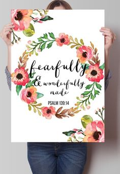 Fancy - Fearfully and Wanderfully made Print