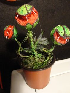 Carnivorous / Man Eating Plant in a Pot  Short by ThePaleRealm