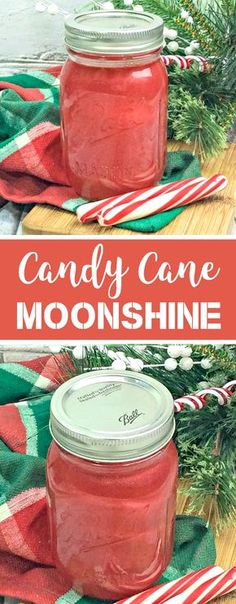 Hosting a holiday party and want a festive alcoholic beverage? This homemade Candy Cane Moonshine recipe will do the trick! Made with everclear, this peppermint Homemade Alcohol, Homemade Liquor, Homemade Candies, Homeade Candy, Homemade Gifts, Alcohol Candy, Alcohol Gifts, Liquor Candy, Moon Shine