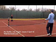 Kids Tennis Lesson (live) - part 4 - how to teach tennis to little kids (age 4 - 10) - see full lesson at WebTennis24.com