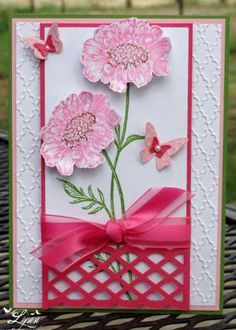 A Field of Flowers by jimlynn - Cards and Paper Crafts at Splitcoaststampers
