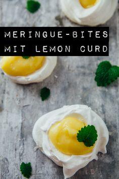 Meringue-Bites mit Lemon Curd - www.kuechenchaotin.de