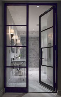 I Like These Double Doors Would Probably Use As The Entrance To Shower In