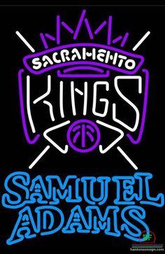 Samuel Adams Sacramento Kings Neon Sign NBA Teams Neon Light