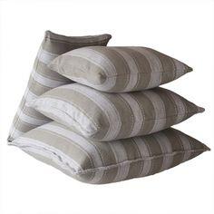 Riihiraita tyynynpäälliset, beige