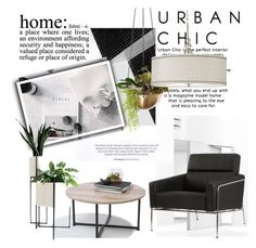 """""""Urban Chic Home"""" by clotheshawg ❤ liked on Polyvore featuring interior, interiors, interior design, home, home decor, interior decorating, WALL and Kenroy Home"""