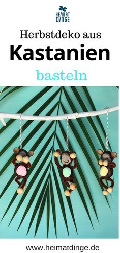 Making chestnut figures: 4 simple ideas to imitate - Basteln mit Kindern - Diy Projects For Kids, Diy For Kids, Crafts For Kids, Easy Crafts, Diy And Crafts, Gifted Kids, Kids And Parenting, Handicraft, Kids Playing