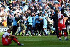 Manchester City vs QPR - Man. City wins the league