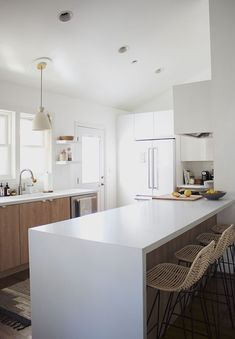 our kitchen : the reveal / almost makes perfect