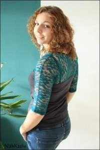 Quick & Simply Shirt nach Schnitt von Sandy's Nähkästchen mit elastischer Spitze von Staghorn