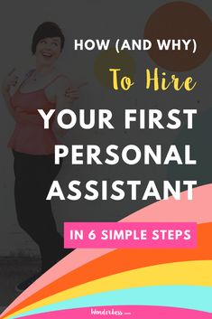 Click through to learn HOW (and WHY) you need to hire your first personal assistant ASAP.  If you're ready to feel LESS overwhelmed, to feel more inspired + joy in your everyday work and to grow your business like heck fire, then give this episode a listen because I share how you can EASILY hire your first personal assistant in 6 simple steps.  #entrepreneurtips #personalassistant #hiringforentrepreneurs