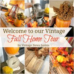 Home tour. Take a deep breath! In.... and.... ahhhhhh! Smell that? That's hot apple cider simmering on the stove, the spicy cinnamon air so yummy you can almost taste it! And you smell that hint of vanilla?? ...