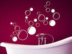 Baño WC premium espacio decorativas set wellnes imagen Pegatina Sticker dekoaufkleber nuevo