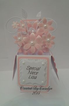 BIRTHDAY POP-UP BOX CARD | docrafts.com