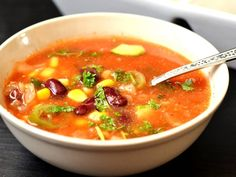 Three Healthy Soup Recipes For Weight Loss Healthy Soup Recipes, Clean Eating Recipes, Healthy Eating, Cooking Recipes, Hungarian Recipes, Food 52, One Pot Meals, Food Porn, Food And Drink