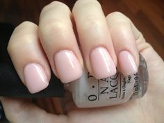 OPI Bubble Bath...best nude shade!