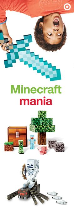 Minecraft is all about breaking and placing blocks in your own little world. This will surely make a fun-filled Christmas gift for boys or girls.