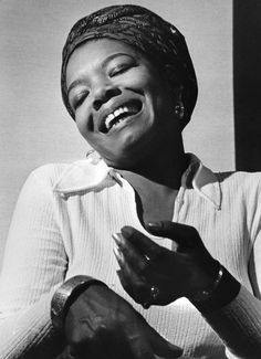 Indescribable Maya Angelou. When she really liked someone, she allowed them to kiss her on the cheek. I love her so much, I might've just planted one right on her lips if I was ever given the chance.