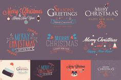Christmas Elements Toolkit by Zeppelin Graphics on Creative Market