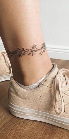 Simple 30 Ankle Small Tattoos Design Ideas For Women - Simple 30 Ankle . - Simple 30 Ankle Small Tattoos Design Ideas For Women – Simple 30 Ankle Small Tattoos Design Ideas - Little Tattoos, Mini Tattoos, Foot Tattoos, Body Art Tattoos, Tatoos, Chicano Tattoos, White Tattoos, Arrow Tattoos, Pretty Tattoos