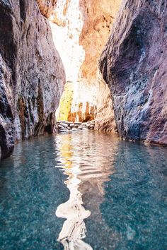 Looking for an Arizona travel adventure? Tucked in a colorful slot canyon along the Colorado River, Arizona Hot Springs offer a beautiful backdrop to enjoy a nice long soak. Vacation Places, Dream Vacations, Vacation Spots, Places To Travel, Places To See, Romantic Vacations, Italy Vacation, Honeymoon Destinations, Arizona Road Trip