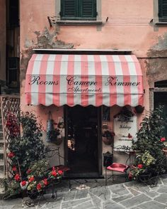 Cute store front Riomaggiore | eskimo posted on 3rd avril tags: italy bed and breakfast rooms hotel pink flowers