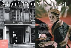 "Sorority on E. 63rd St. For a small-town girl with a dream, from the Roaring 20s through the 1960s, there was no address more glamorous than New York's ""women only"" Barbizon Hotel."