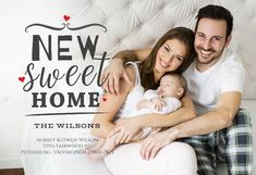 Sweet Home - Moving Announcement #announcements #printable #diy #template #Moving #newaddress #newhome Moving Announcements, Announcement Cards, Bird Free, Moving House, Text Messages, Sweet Home, Island, Templates, Couple Photos