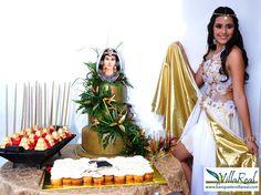 Salón de Laureles - Medellín Temática: Egipcia www.banquetesvillareal.com