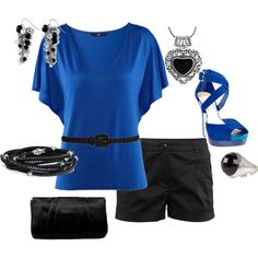 Who Doesn't Love Dressy Shorts?, created by firefly7522 on Polyvore