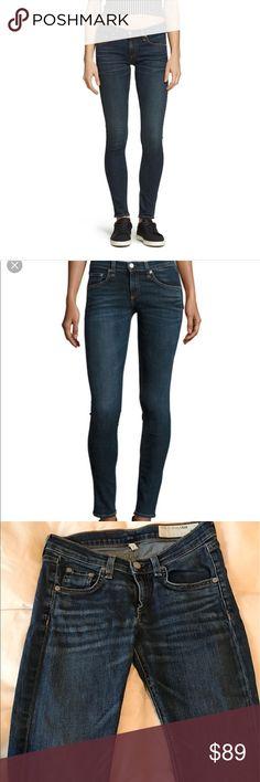 Rag and bone skinny jeans Rag and bone skinny dark blue jeans size 2 rag & bone Jeans Skinny