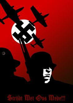 WW_II_Nazi_propaganda_poster_by_bazaaa.jpg 658×930 pixels