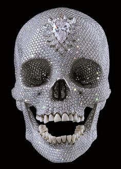 A 50 million diamond skull
