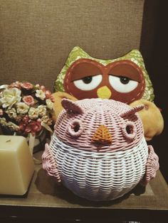 Rattan owl