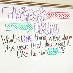 #flashbackfriday tomorrow!!! They were already begging me today to tell them what tomorrow's whiteboard message would be! #miss5thswhiteboard #teachersofinstagram #teachersfollowteachers #iteach7th