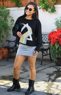 Christina Milian #ChristinaMilian Leggy in Mini Skirt  Il Pastaio Restaurant in Beverly Hills 11/01/2017 Celebstills C Christina Milian