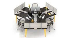 C.I.T.É. - Système de mobilier de bureau Bench Furniture, Office Furniture, Maximize Space, Open Concept, Baby Strollers, Innovation, Retro, Collection, Modern