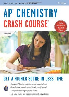 7 best ap chem crash course images on pinterest books online ap ap chemistry crash course book online advanced placement ap crash course by adrian dingle fandeluxe Gallery