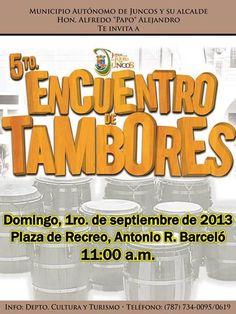 5to Encuentro de Tambores @ Juncos #sondeaquipr #encuentrodetambores #juncos