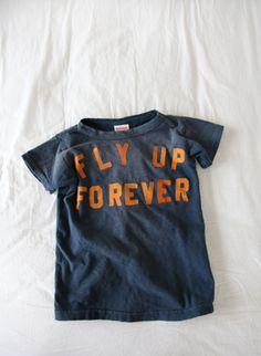 Tシャツ/FLY UP FOREVER(KIDS) Mens Fashion Blog, Boy Fashion, Beach Words, Kid N Play, Tee Shirt Designs, Tee Shirts, Tees, Fashion Prints, Knits