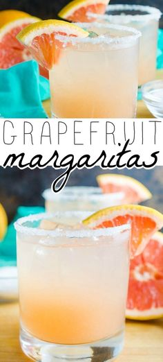 Nutritious Snack Tips For Equally Young Ones And Adults Grapefruit Margarita - If I Had To Choose A Favorite Cocktail, It Just Might Definitely Be A Grapefruit Margarita. Sweet And Tangy And Perfectly Delicious Fun Cocktails, Party Drinks, Summer Drinks, Fun Drinks, Cocktail Recipes, Cocktail Drinks, Mixed Drinks, Alcoholic Drinks, Beverages