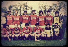 Equipe 1ère du CS CARENTAN 1982 vintage CS CARENTAN first team in 1982