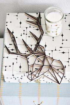 Origami Hirsch von woodworld auf DaWanda.com